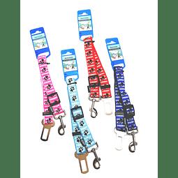 Cinturón para auto estampado patitas