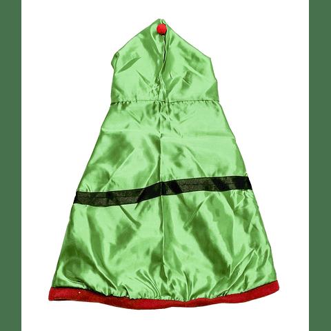 Capa Navidad Duende Verde  para perro. (único).