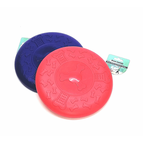 Juguete. Frisbee para perro