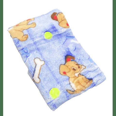 Manta de felpa, 65x45 cms, para perro/gato