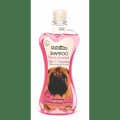 Shampoo Neutralizador de olores para perro.