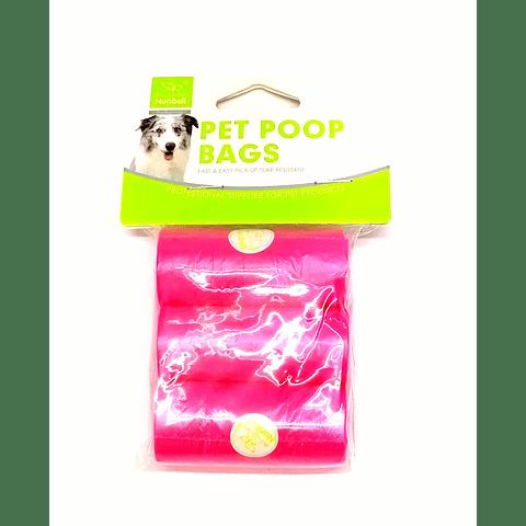 Rollos de bolsas para excremento (3 unds)
