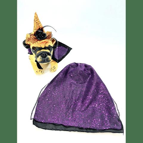 Capa  Bruja  para Halloween.