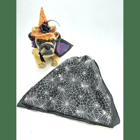 Capa bruja Telaraña  para  Halloween