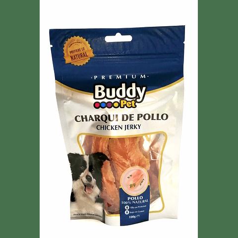 Snack Charqui de pollo.