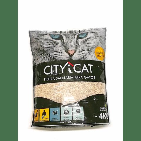Arena Sanitaria City Cat Natural (4kg)