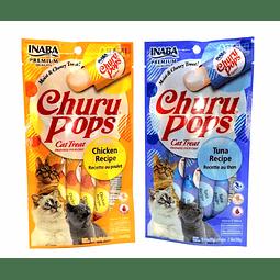 Snack. Churu Pops para gato