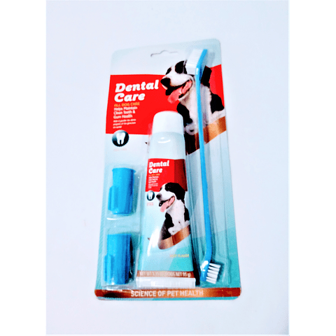 Sanitario. Set de higiene dental para perros
