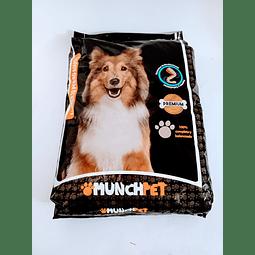 Alimento Munchpet balanceado (15 kg) para perro adulto