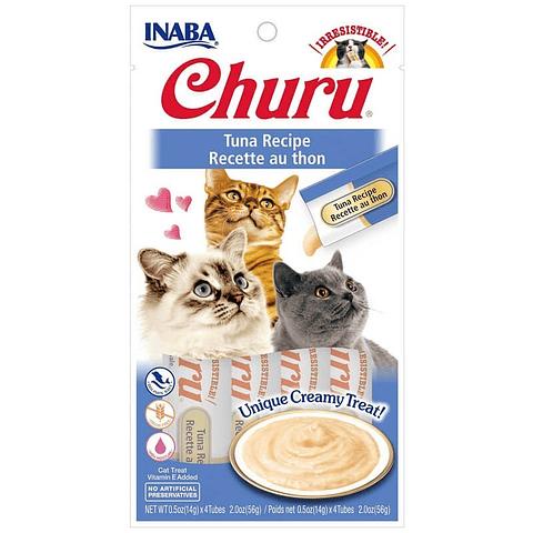 Alimento. Snack  Churu Atún para gato
