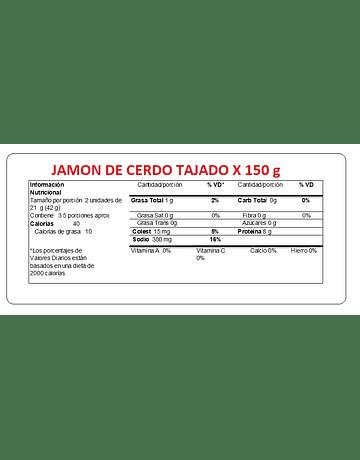 JAMON TAJADO 150G