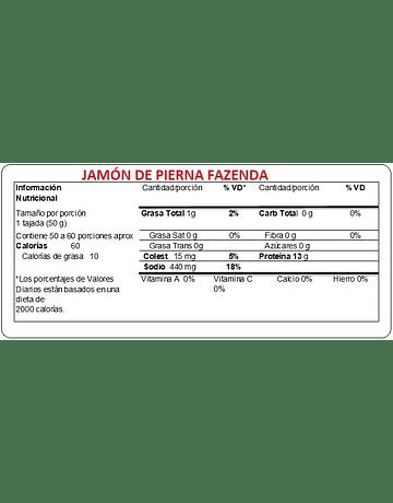 JAMON PIERNA FAZENDA