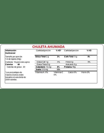CHULETA AHUMADA