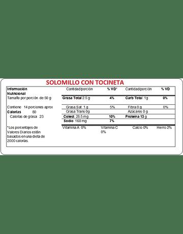 SOLOMILLO CON TOCINETA