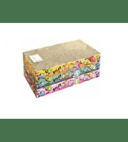 Rasguñador cartón simple