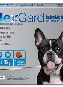 NexGard 4-10kgs 1Tableta