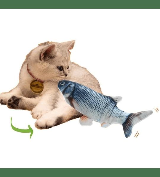 Pez Peluche 30cm con Catnip