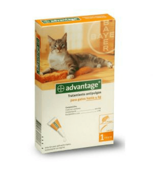 Advantage gatos hasta 4kgs