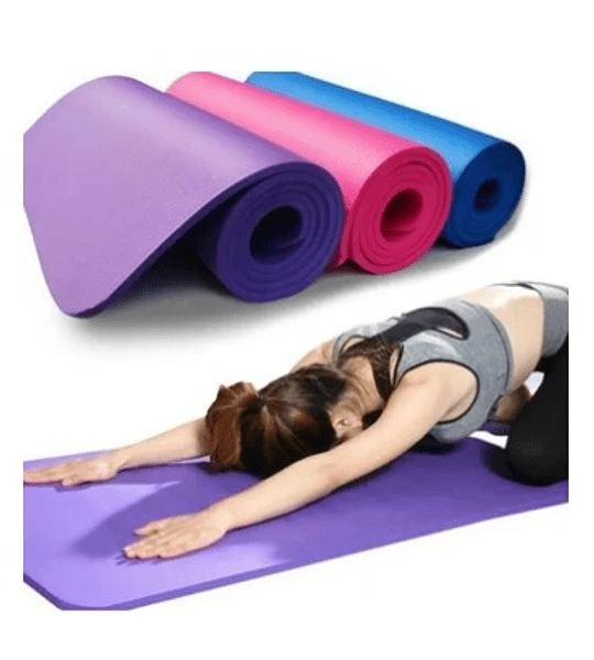 Mat Yoga 183 x 61 cms 10mm