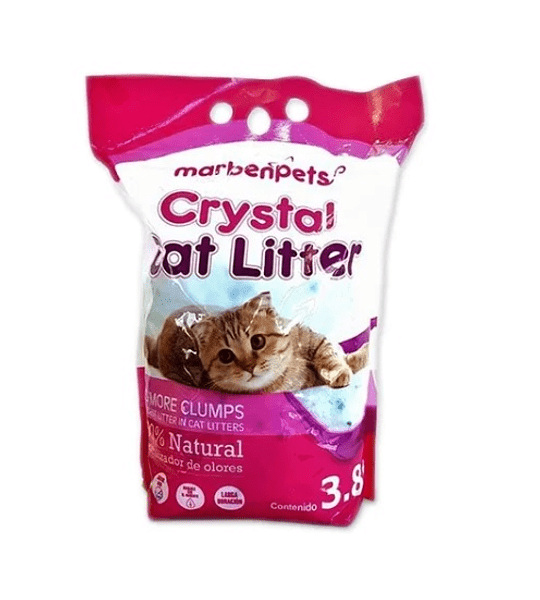 PACK 2UN.Arena Crystal Silica Gel 1.6lts
