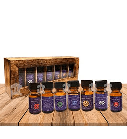 Set de aceites 7 chackras Krishna Scents