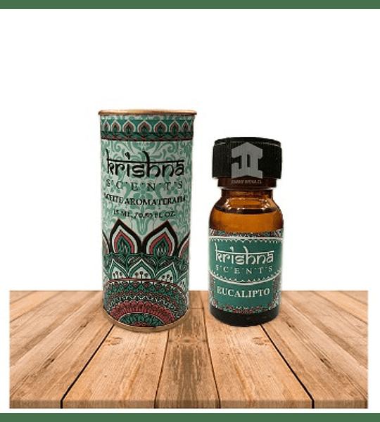 Aceite Eucalipto 15ml Krishna Scents