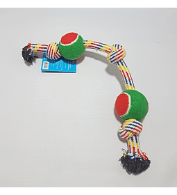 Cuerda XL nudos y doble pelota