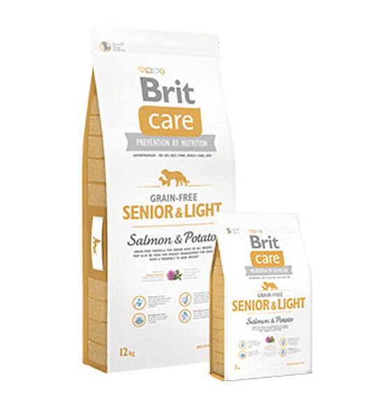 Brit Care Senior & Light 12kgs