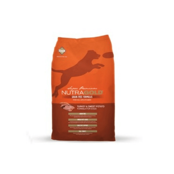 Nutra Gold Canino Grain Free Pavo 2.2kgs