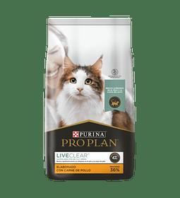 Proplan Felino Live Clear 3kgs. Nuevo!
