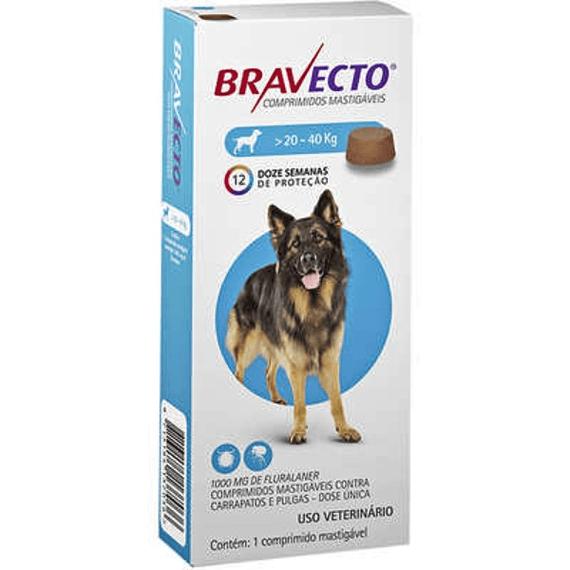 Bravecto 20 a 40kgs