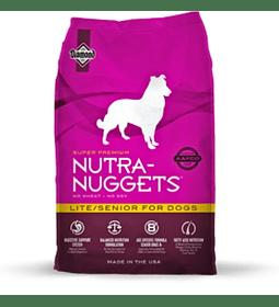 Nutra Nuggets Lite Senior 15kgs