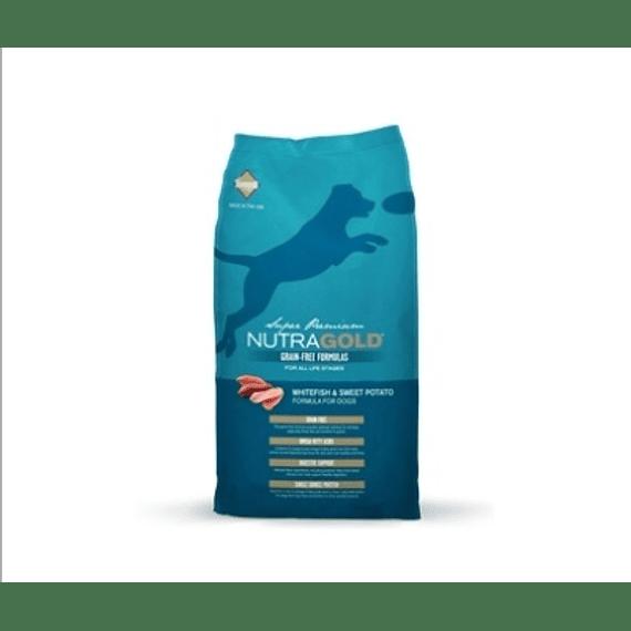 Nutra Gold Canino Grain Free Pescado Blanco 2kgs
