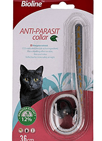 Collar Antiparásitos Gato Bioline