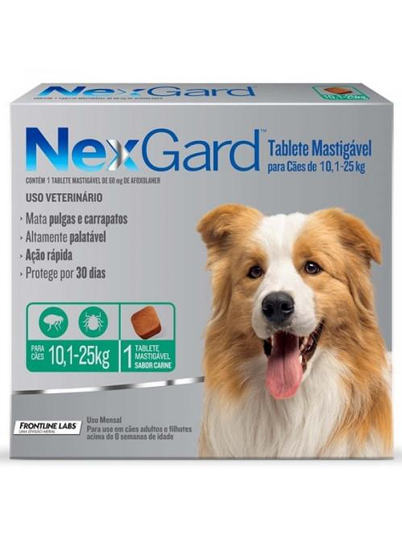 Nexgard 10-25kgs 1Tableta