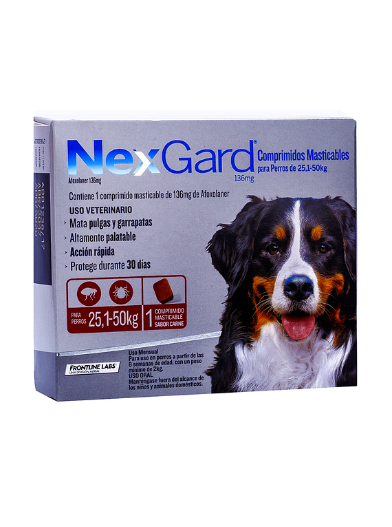 Nexgard 26-50kgs 1Tableta