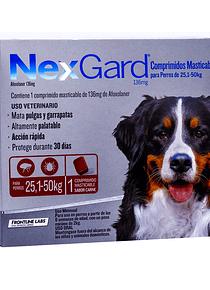 Nexgard 26-50kgs 1Tableta