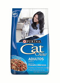 Cat Chow Adulto Pescado 3Kgs
