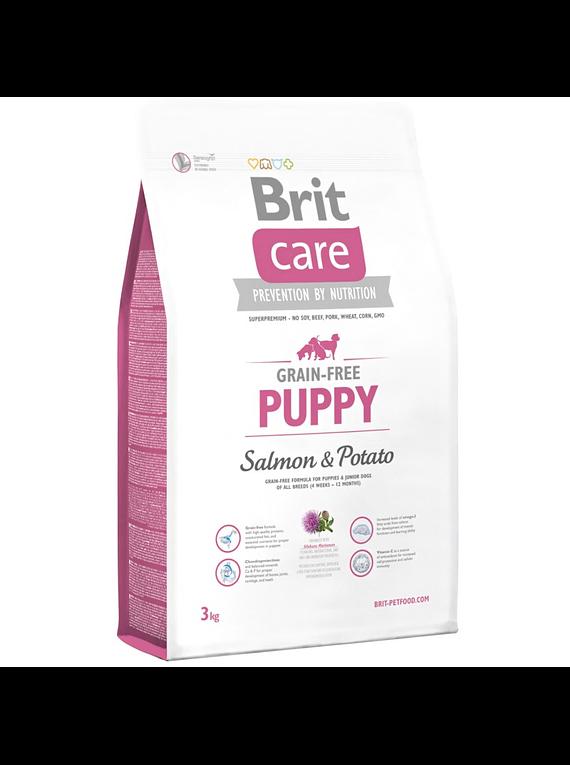 Brit Care Puppy Salmón 3kgs