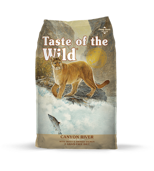 Taste of the Wild Felino Trucha/Salmón 6.6kgs (Canyon River)