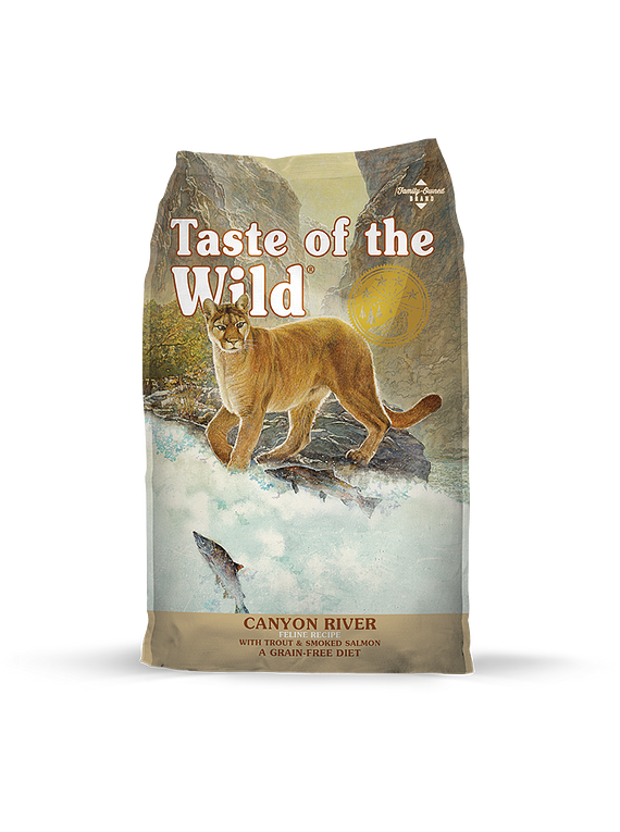 Taste of the Wild Felino Trucha/Salmón 7kgs (Canyon River)