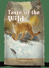 Taste of the Wild Felino Trucha/Salmón 7kgs (Canyon River)