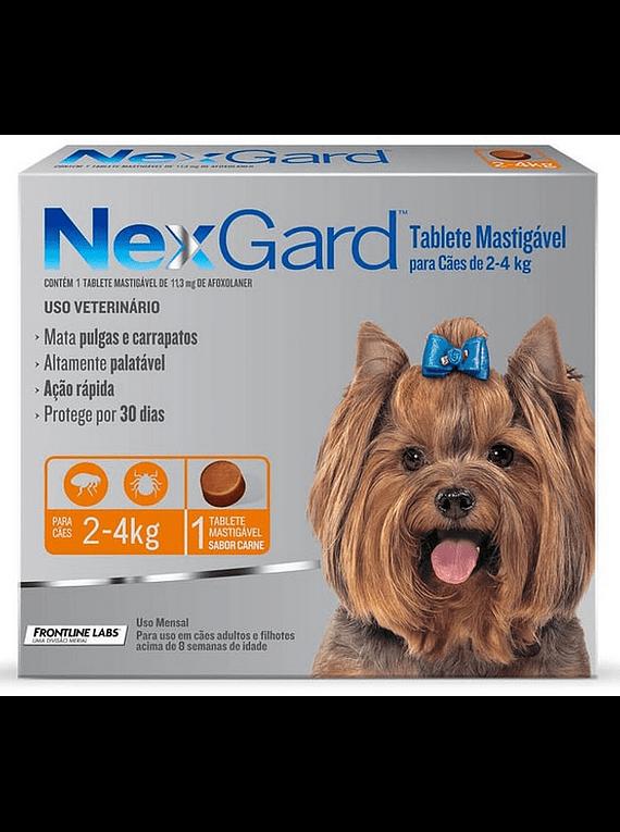 Nexgard 2-4kgs 1Tableta
