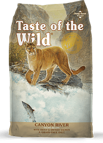 Taste of the Wild Felino Trucha/Salmón 2kgs (Canyon River)