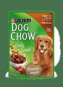 DogChow Sachet Carne 100grs X 4UN