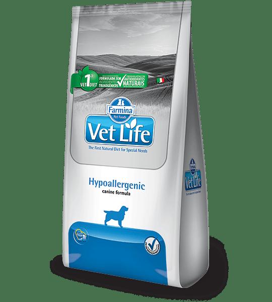 Vetlife Canino Hipoalergénico 10kgs
