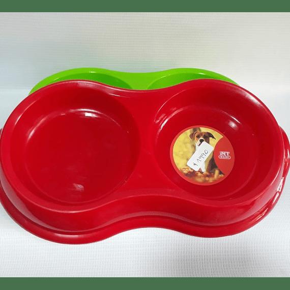 Plato Plástico Doble Antideslizante