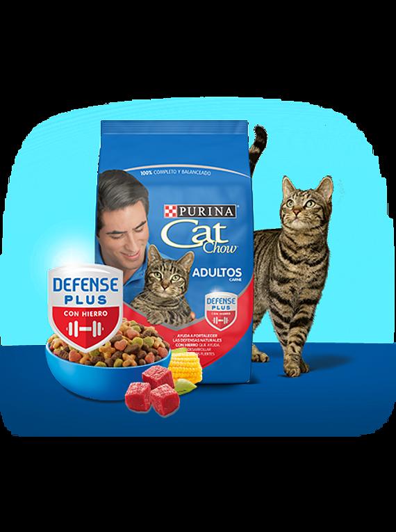 CatChow Adulto Delicias Carne 8kgs