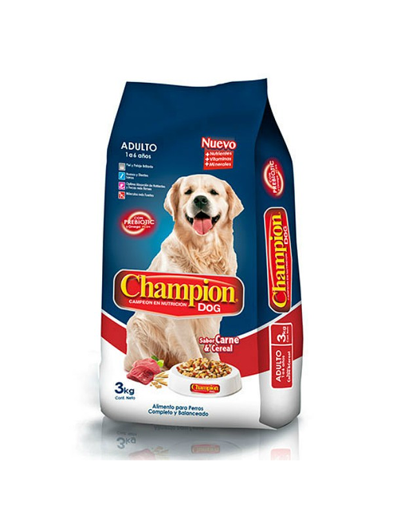 Champion adulto 18kgs