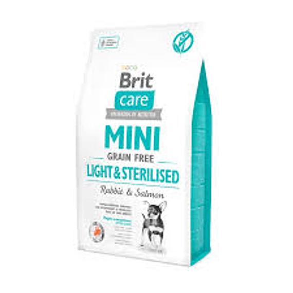 Brit Care Mini Light&Sterilized 2kgs